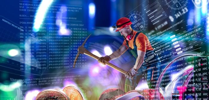 Jedes fünfte Unternehmensnetzwerk sah sich 2020 einer Cryptomining-Malware-Attacke ausgesetzt (Foto: shutterstock - Yevhen Vitte)